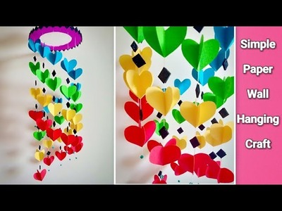 Attractive Wall Hanging Craft at Home | DIY | Paper Craft Ideas