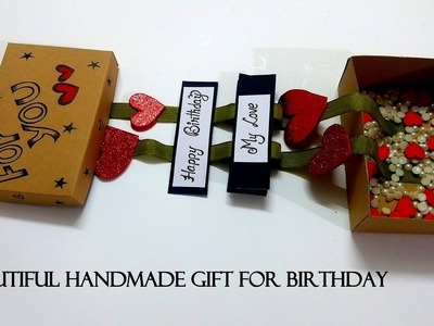Beautiful Handmade GIFT for Birthday | Easy Handmade GIFT | tutorial
