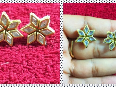 Beautiful handmade Jewellery design at home |  5 minutes Craft Jewellery | hair styles & fashions
