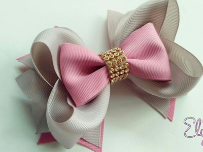 Boutique Divino ???? Ribbob Bow Tutorial ???? DIY by Elysia Handmade