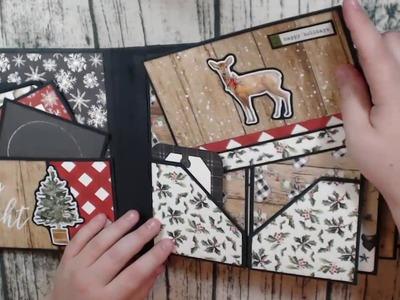 Carta Bella Christmas Album Review and Tutorial