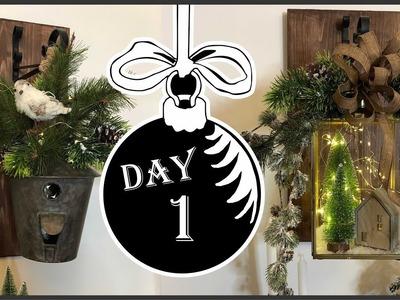 Christmas 2018 Hanging Lantern Sconces DIY  | Winter Wonderland #1
