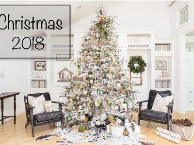 Christmas Decorating | Modern  Farmhouse Christmas Tree | Christmas 2018
