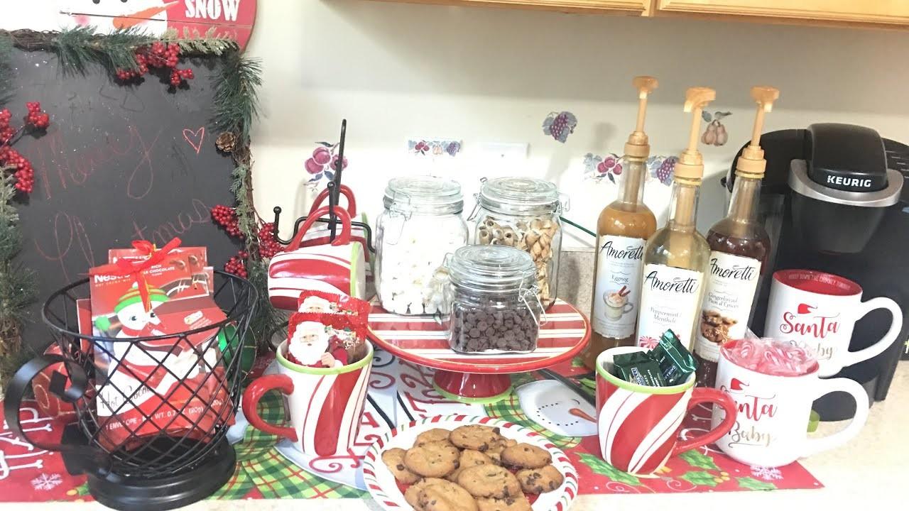 ???? ???? CHRISTMAS HOT COCOA BAR.Dollar Tree and Dollar General Haul ????????