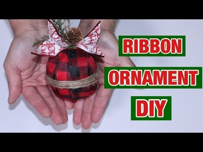Christmas Ornament DIY. How To Make Ornaments  On A Budget