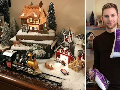 Christmas Village Display - How To Set Up A Christmas Village - Christmas Decorating