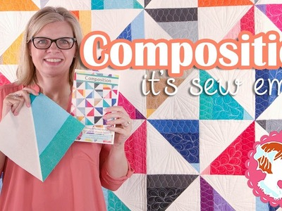 Composition by It's Sew Emma | Modern Quilt Project | Fat Quarter Shop