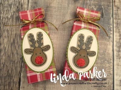 Countdown to Christmas Project No 8 - Bon Bon Wrapper Style Treat Box