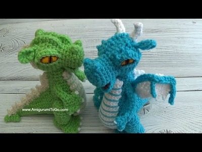Crochet Along Small But Mighty Dragon Part 21 How To Sew The Horns and Spikes On