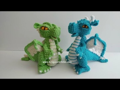 Crochet Along Small But Mighty Dragon Part 24 How To Sew The Wings Onto The  Dragon