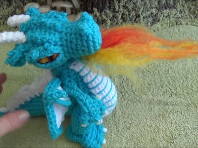 Crochet Along Small But Mighty Dragon Part 25 How To Make Dragon Fire