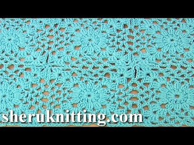 Crochet Motif For Beginners Tutorial 27 Part 1 of 2