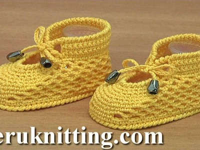 Crochet Shoes For Baby Tutorial 289
