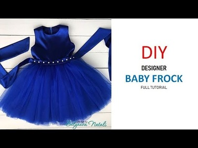 Diy Designer Baby Frock Cutting And Stitching Full Tutorial