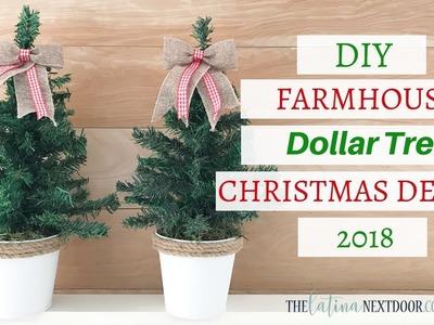 DIY Dollar Tree Christmas Decor 2018 | Farmhouse Christmas DIY
