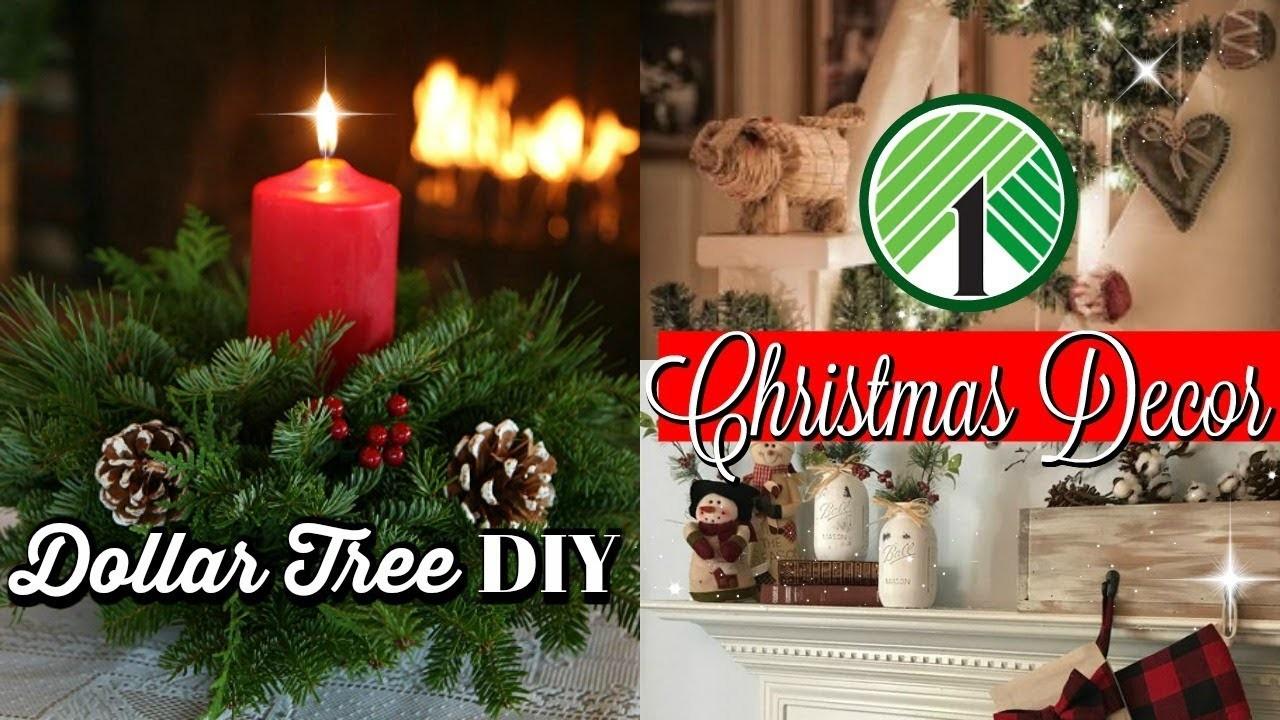 DIY Dollar Tree Christmas Decor Ideas. Dollar Tree Finds