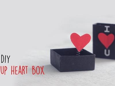 DIY Pop-up Heart Box | Handmade Cards | Card Making Ideas