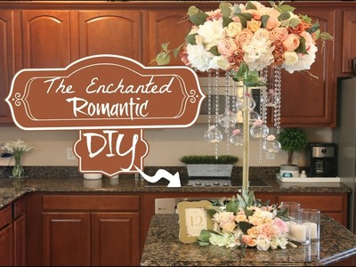 DIY Tall Enchanted Romantic Wedding Centerpiece| 3 FEET TALL!