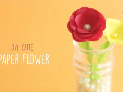 DIY Tiny Paper Rose | Easy Paper Flower