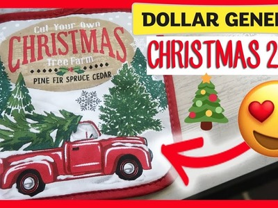 ????DOLLAR GENERAL CHRISTMAS | SHOP WITH ME AND HAUL NEW 2018