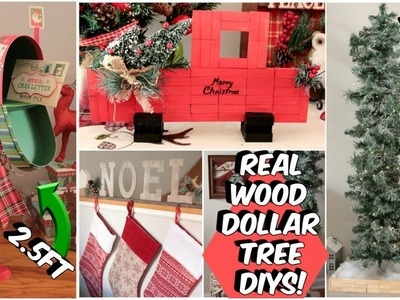 DOLLAR TREE CHRISTMAS DECOR DIYS 2018