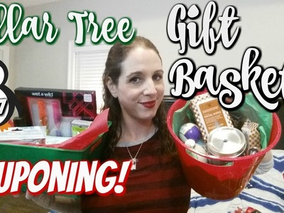 DOLLAR TREE.COUPONING GIFT BASKETS ON A BUDGET! HOW TO GIFT FROM YOUR STOCKPILE!