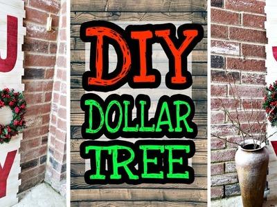 Dollar Tree DIY Christmas Decor. DIY Rustic Christmas decorations
