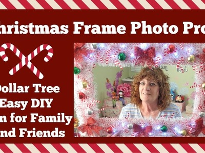 Dollar Tree DIY ???? Christmas Frame Photo Prop ????
