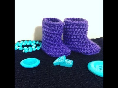 DYI: Crochet Baby Booties