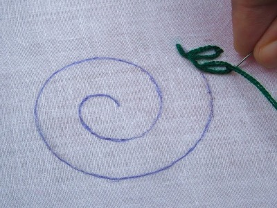 Hand Embroidery,Lazy Daisy Stitch and Lazy Daisy Stitch,Easy Flower Stitch,Crafts & Embroidery
