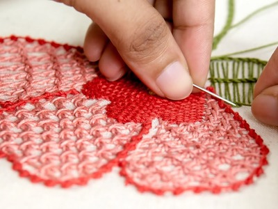 Hand Embroidery:Stitch Flower Patterns on Clothes by HandiWorks