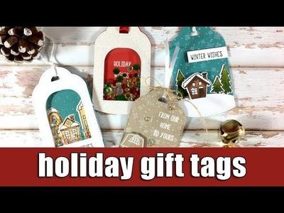 Holiday gift tags | Studio Katia blog hop & giveaway