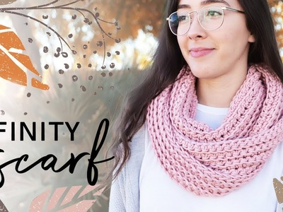 How to Crochet an Infinity Scarf — EASY for Beginners