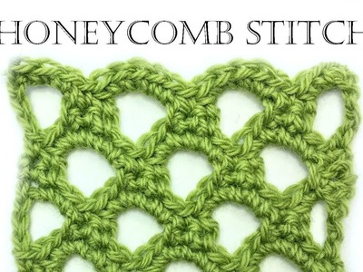How to Crochet Honeycomb Stitch