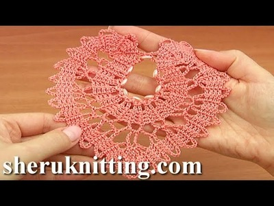 How to Do Crochet Heart Tutorial 8 Part 2 of 2