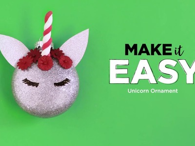 How To Make An Easy Unicorn Ornament | Michaels
