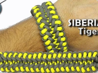 How To Make Paracord Bracelet Siberian Tiger DIY Paracord Tutorial