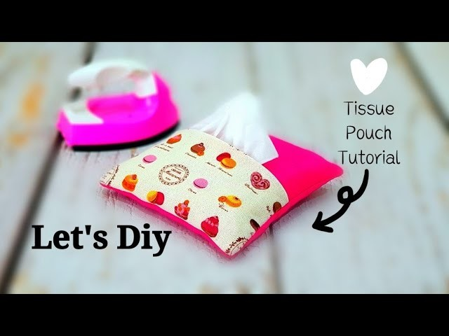 How to sew Tissue pouch | 正方形纸巾包diy 【布碎利用】#HandyMum❤❤