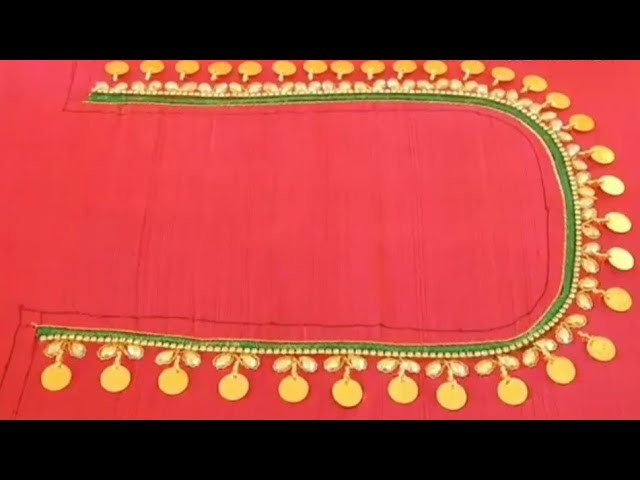 HOW TO STITCH A MAGGAM WORK BLOUSE WITH LAXMI KASU AND PADDED STITCH