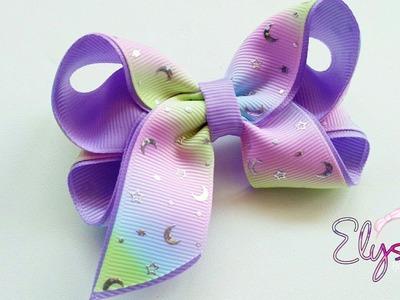 Laço Boutique Charme Fita N5 ???? Ribbon Bow Tutorial ???? DIY by Elysia Handmade