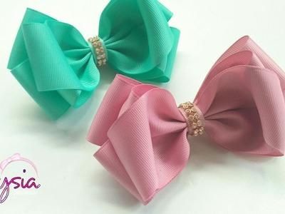 Laço Vanessa ???? Ribbon Bow Tutorial ???? DIY by Elysia Handmade