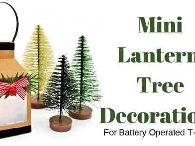 Mini Lantern Tree Decorations | DIY Crafts | Christmas Workshop 2018