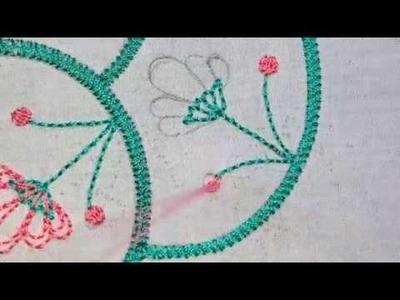 Nakshi kantha design stitch-95, how to stitch nakshi kantha,নকশী কাঁথা সেলাই, नक्षी कंध सिलाई