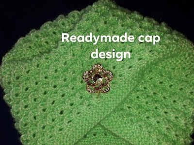 New knitting cap design,new knitting readymade design,new stylist topi