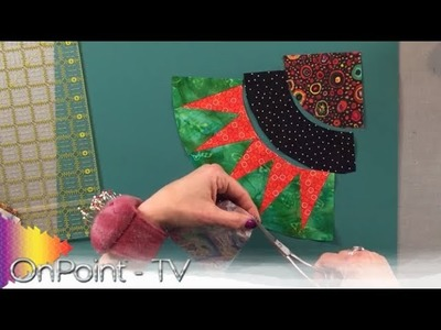 OnPoint TV Ep 306.3: Curve Piecing the New York Beauty Quilt
