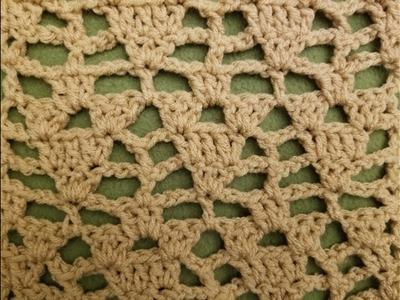 Part 2 - The Arrowhead Lace Stitch Crochet Tutorial!