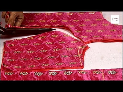 Princess cut blouse drafting and cutting step by step very Easy, How to make princess cut blouse,
