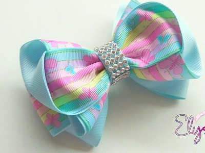 Ribbon Bow Tutorial 2 | DIY by Elysia Handmade