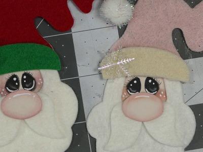 Santa Die, Enhancing Eyes and Cheek Tutorial