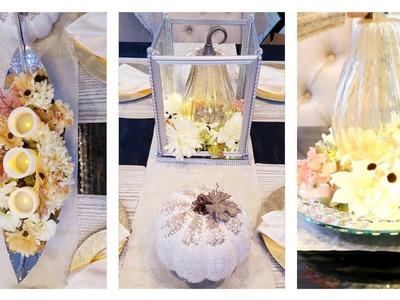 Thanksgiving Decorating Ideas | Easy Table Centerpiece Ideas